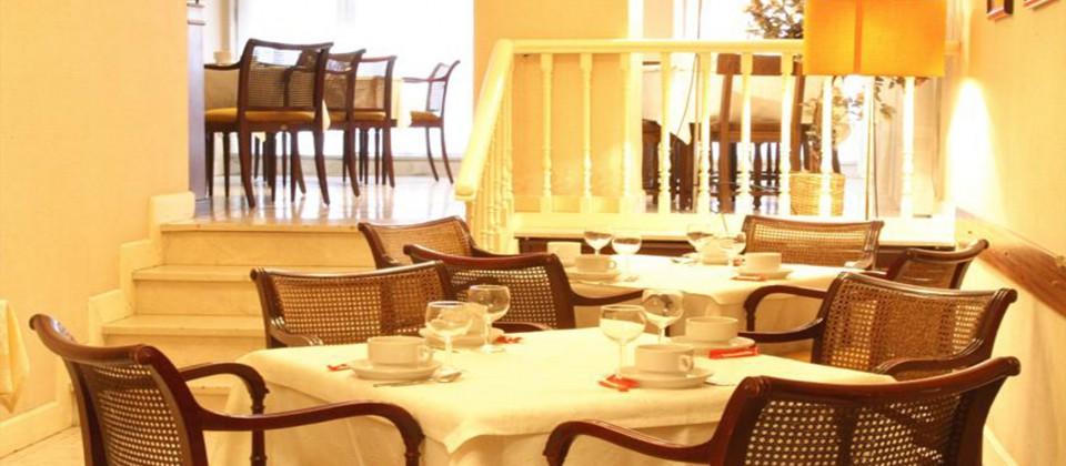 Restaurante del Hotel Monclus en Palencia